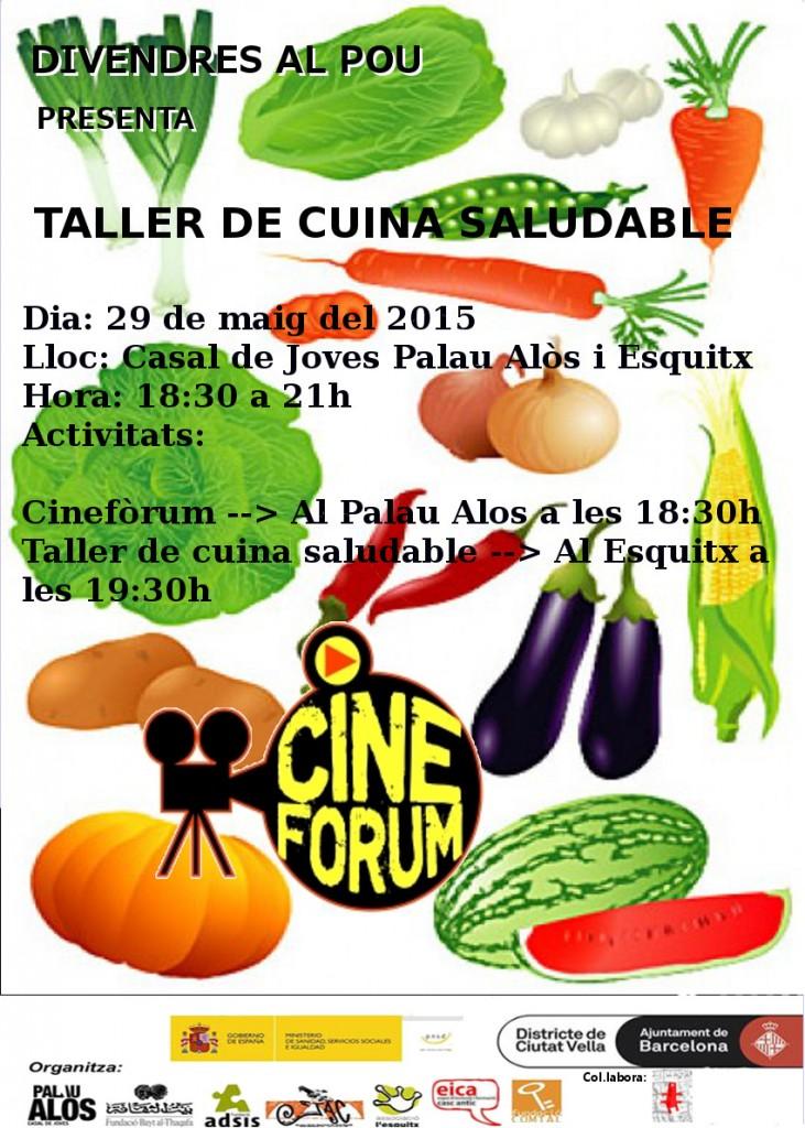 Comida SaludableCARTELPALOMATIF