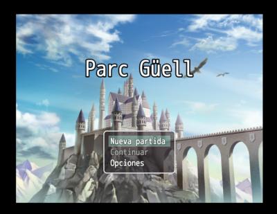 """Juga a """"Parc Güell"""""""