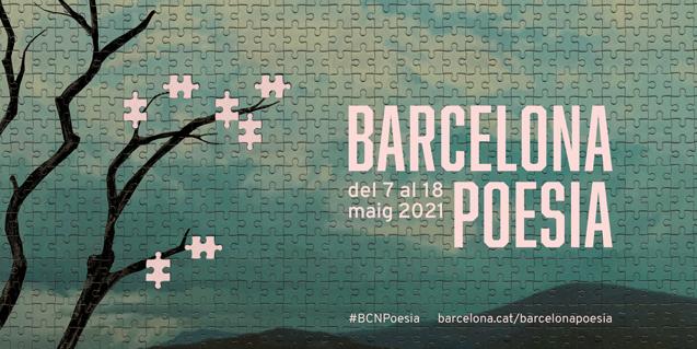 Imatge de campanya de Barcelona Poesia