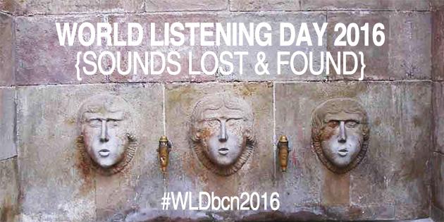 Activitats al voltant del Dia Mundial de l'Escolta #WLDbcn