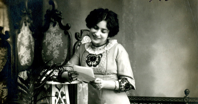 Margarita Xirgu. Imatge del fons del Museu de les Arts Escèniques (MAE)
