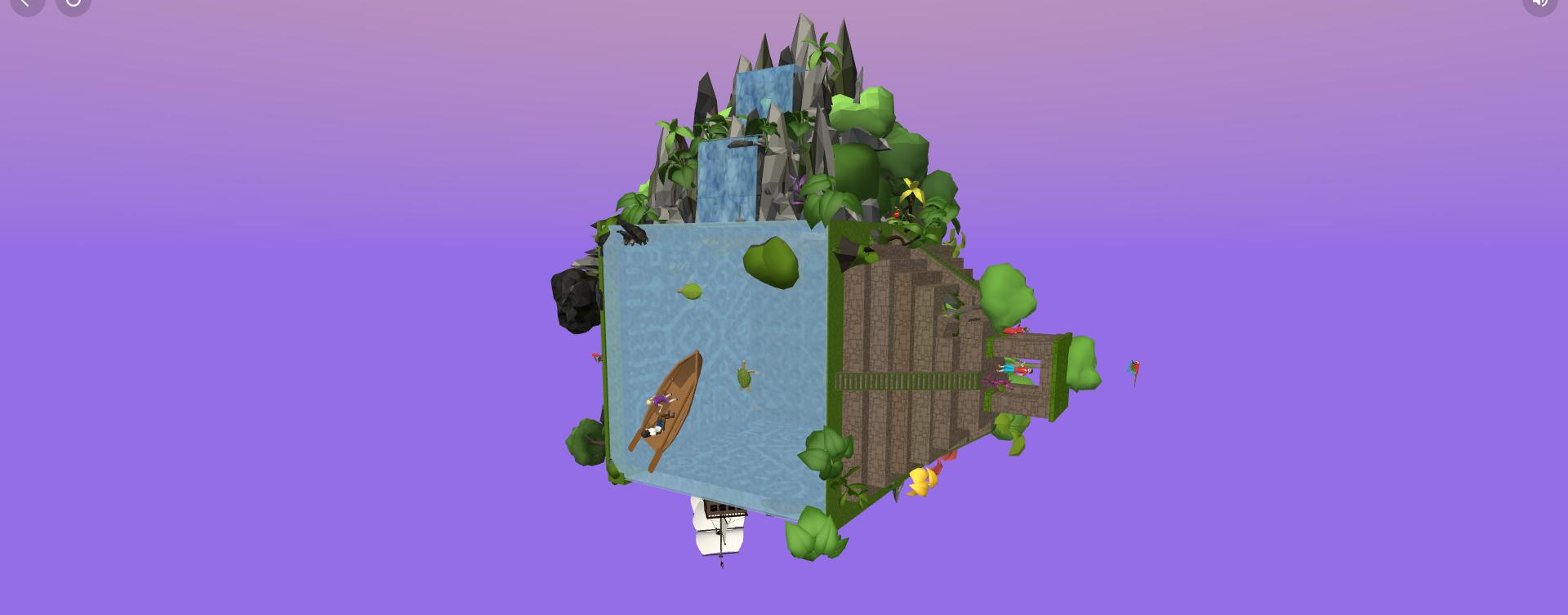 pantalla del software cospaces