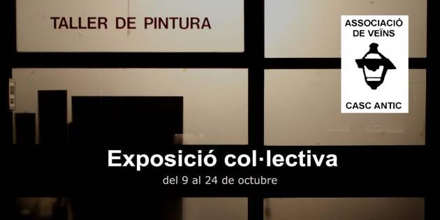 [Exposició] Col·lectiva Taller de Pintors Associacio de Veïns del Casc Antic