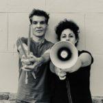 Prácticas de resistencia #1 Performance Pia Sommer i Ivan Molina