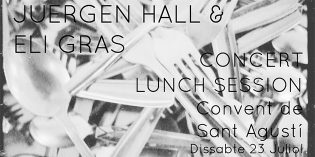 Concert vermut improvisació : Juergen Hall & Eli Gras