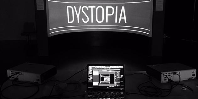 Dystopia : Instal·lació Immersiva amb alumnes de La Salle