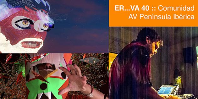 [CONCERT] Cicle ERVA 40 amb Microfeel, VJ Electroiman i Error43