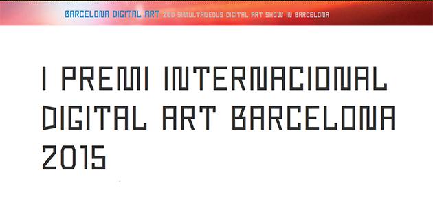 I Premi Internacional Digital Art Barcelona 2015