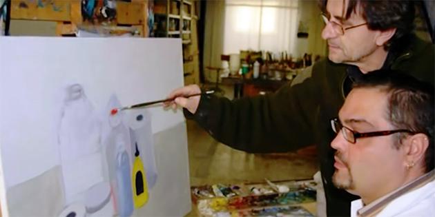 [Exposició] A quatre mans : coneixement, creativitat i art