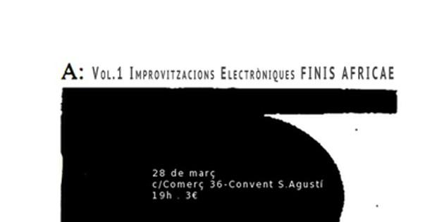 Finis Africae : improvisacions electròniques