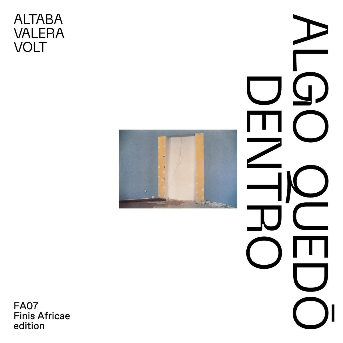 coberta del disc de Altaba Valera Volt, algo quedó dentro
