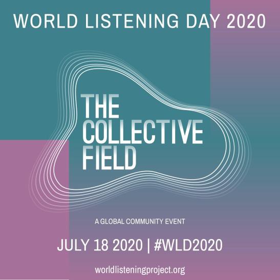 imatge de la campanya 2020 del dia mundial de l'escolta